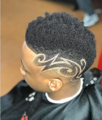 Black Boy Side Design Haircut Hair Designs For Boys Black Boys Haircuts Haircut Designs