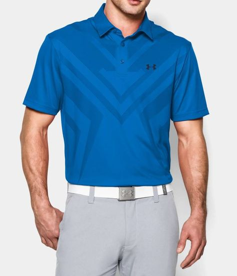 love it! UA GOLF DESIGNED BY MICHAEL WHERLEY Men's UA ArmourVent™ Tips Polo | Under Armour US