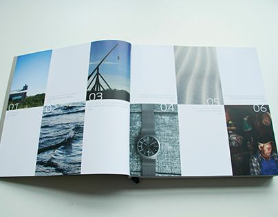 This Is A Coffee Table Brand Book For Skagen Denmark I Designed