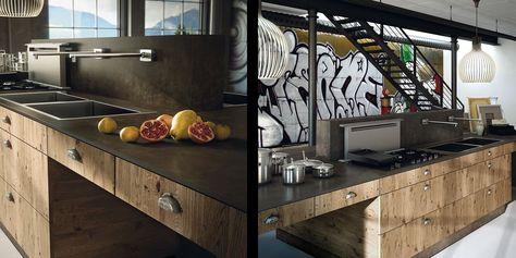 Cuisine Design En Bois Cuisine Design En Bois Contemporain