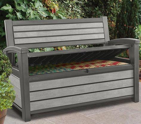 Gartenbank Hudson Bench Aus Hochwertigem Polypropylen Aussenmasse