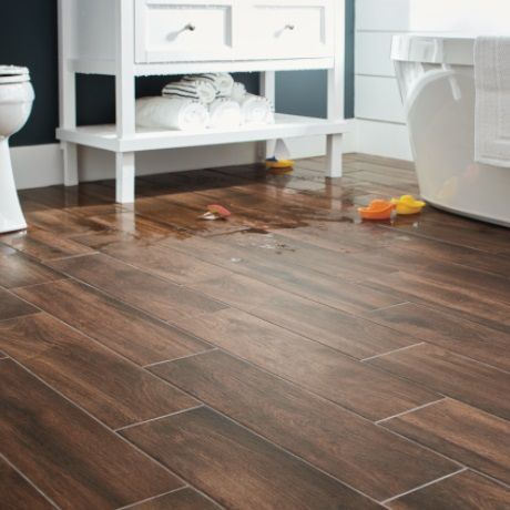 Lifeproof Autumn Wood 6 In X 24 In Porcelain Floor And Wall Tile