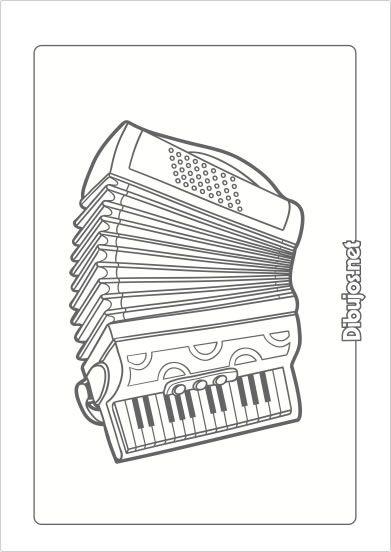 10 Dibujos De Instrumentos Musicales Para Imprimir Y Colorear Dibujos Net Instrument Craft Rockabilly Cars Native Art