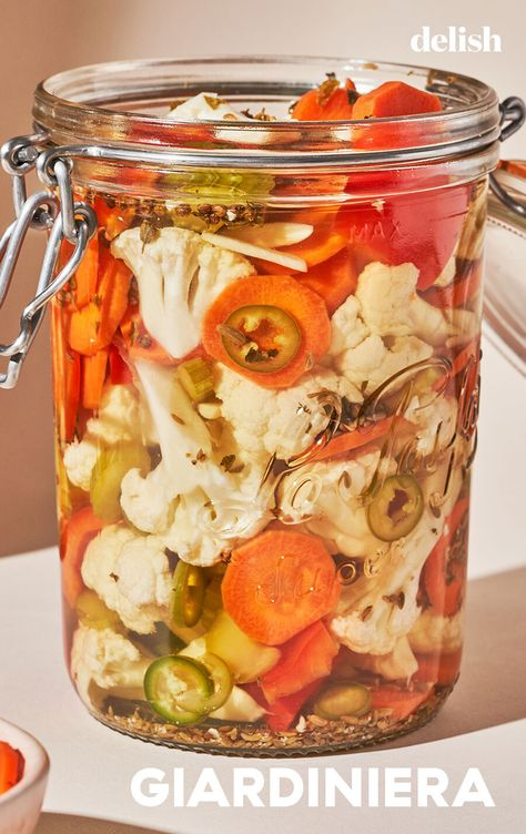If you love pickles, you need to try giardiniera.