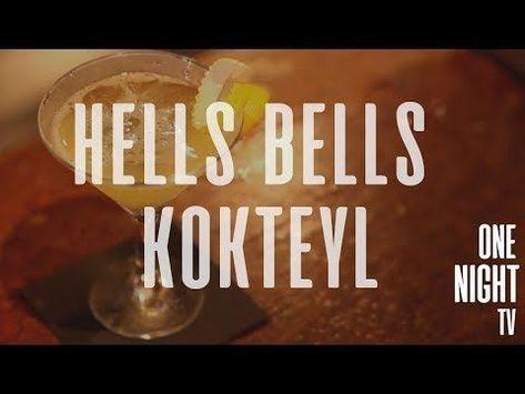OneNight Kokteyl  Hells Bells Kokteyl Tarifi #kokteyltarifleri OneNight Kokteyl