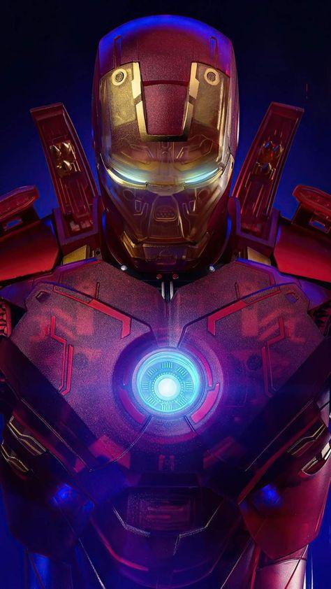 Iron Man Transparent Armor - IPhone Wallpapers