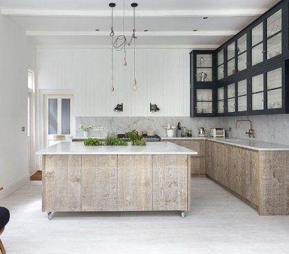 Plan De Travail En Pierre Le Granit Le Quartz Le Steatite Ou Le Marbre En 2020 Cuisine Moderne Meuble Cuisine Renovation Cuisine