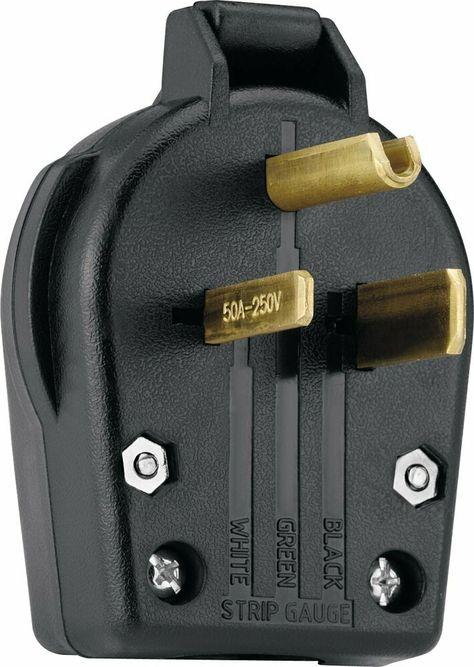sponsored)(ebay) welder plug 50 amp male nema 6 50p genuine wiring 240 volt circuit wiring 240 volt welder receptacle #9