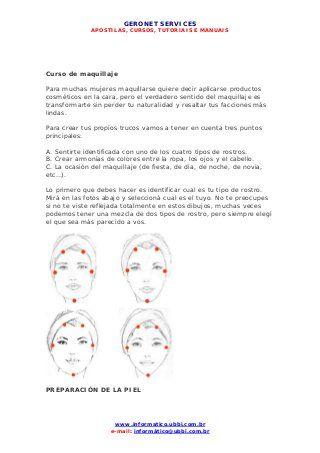 Pdf Maquillaje Maquillaje De Ojos La Mascara Los Ojos