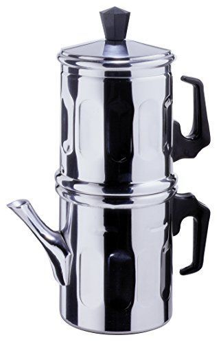 Made In Italy Ilsa NAPOLETANA 6-Cup Stainless Steel Stovetop Espresso
