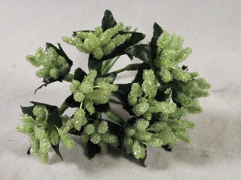 Beaded Berries Della Robbia Stamens Flower Crafts Dolls Millinery Wedding