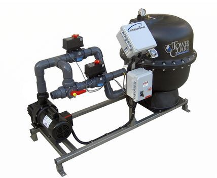 The Towerguard Side Stream Sand Filter Series Represents Miller