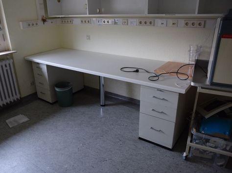 Schreibtisch Bürotisch HBT 76x250x83 TOP Büroräummung