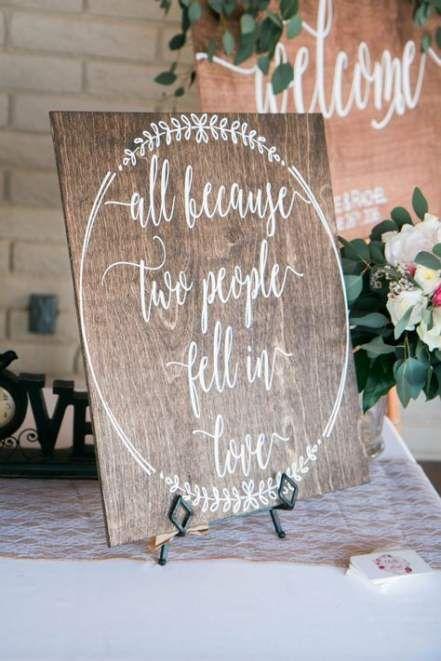30 Trendy Ideas For Wedding Reception Signs Diy Wood Wedding Signs Wooden Wedding Signs Rustic Wedding Signs