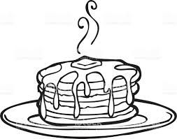 Image Result For Clipart Black And White Delicious Cakes Clip Art Clipart Black And White Cartoon Pancakes