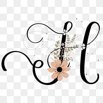 حرف الأبجدية ح حروف اليد مع الزهور وعتيق حرف ح رسالة الحلي إلكتروني Png والمتجهات للتحميل مجانا Lettering Alphabet Letter H Design Hand Lettering