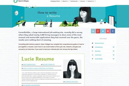 How to Write a Resume Infographic office Pinterest Perfect - write resume