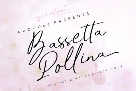 Bassetta Pollina (Font) by grewfont.studio · Creative Fabrica