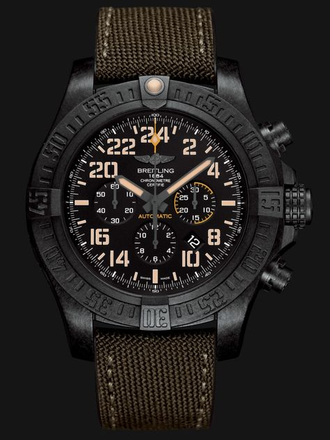 2de3a40dc Avenger Hurricane Military - Limited editions - Breitling - Instruments for  Professionals