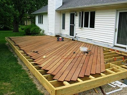 Ipe Deck Boards Were Installed First In 2020 Building A Deck Hardwood Decking Deck Building Plans