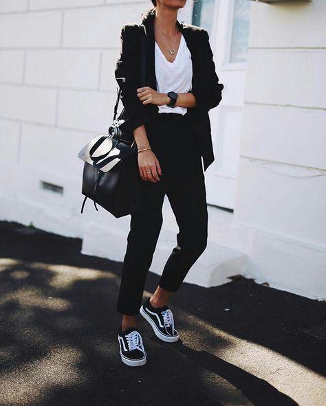 Black vans outfit