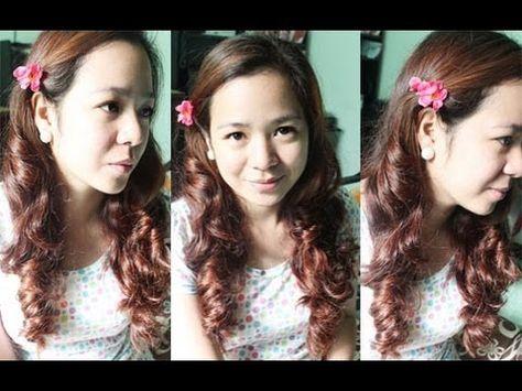 No Heat Stocking Curls- Heatless Prom Curls