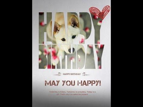 Fotor Happy birthday card video tutorial – Birthday Card Editing Photo