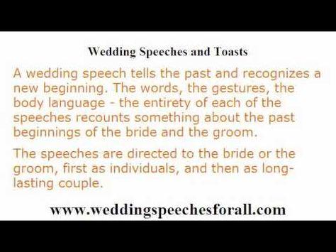 wedding speech writing Speech writing Pinterest - commemorative speech examples
