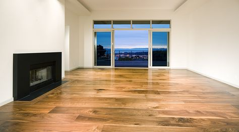 Light Wide Plank Hardwood Floors