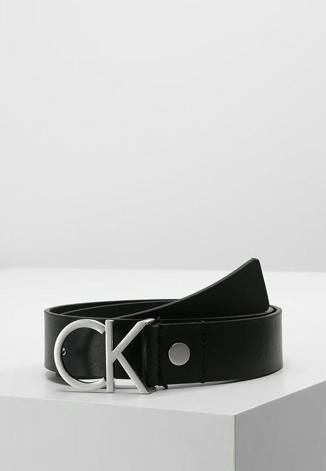 Calvin Klein LOGO BELT Gürtel business black Zalando