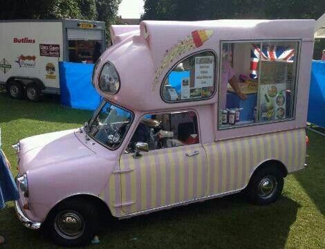 Mini Ice Cream Vanhow Adorable
