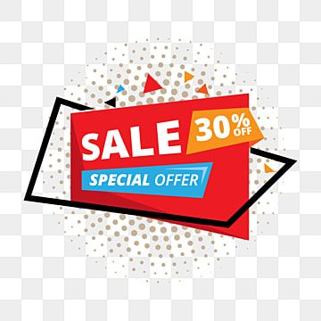 Sale And Special Offer Offer Sale Tag Png And Vector With Transparent Background For Free Download In 2021 Banner Template Design Banner Template Sale Banner