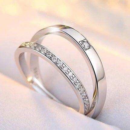 Women Sterling Silver 2ct Cushion Cut CZ Celtic Design Wedding Engagement Ring