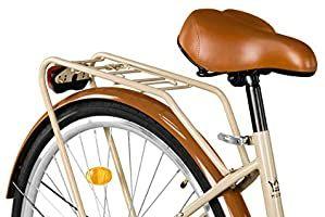 Milord Komfort Fahrrad Mit Gepacktrager Hollandrad Damenfahrrad 1 Gang Braun 28 Zoll Amazon De Sport Freizeit V 2020 G Velosiped