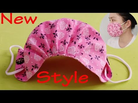 Small Sewing Projects, Sewing Hacks, Sewing Tutorials, Sewing Crafts, Diy Crafts, Sewing Machine Projects, Sewing Blogs, Easy Face Masks, Diy Face Mask