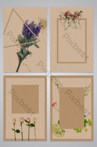 Kraft Paper Flower Advertising Background Map Backgrounds Psd Free Download Pikbest In 2021 Paper Flowers Cartoon Flowers Background Images