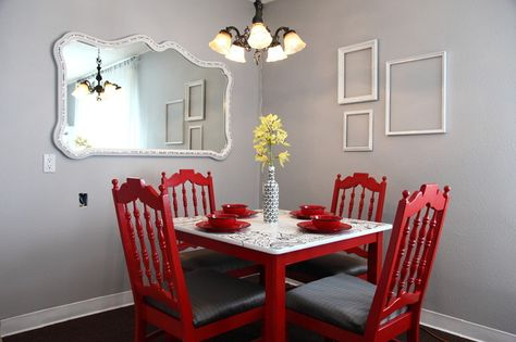 The Upward Bound House by Kelly LaPlante eclectic dining room