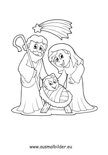 Ausmalbilder Weihnachten Maria Und Josef In 2020 Ausmalbilder Weihnachten Ausmalbilder Ausmalen