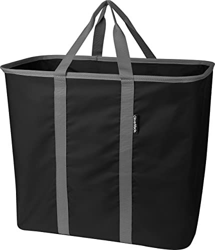The Clevermade Collapsible Laundry Tote Large Foldable Clothes