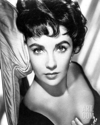 Elizabeth Taylor Photograph