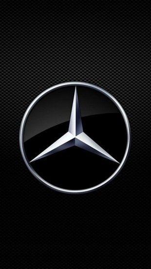 Mercedes Benz Logo Iphone Wallpaper Mercedes Benz Wallpaper