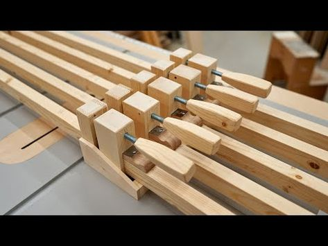 Make These Clamps And Save Hundreds of Dollars - Woodworking - YouTube