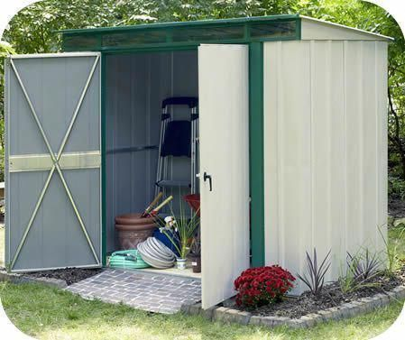 Arrow Eurolite 10x4 Steel Lean To Shed Kit W Skylights Diyshedkit Lean To Shed Kits Shed Shed Kits