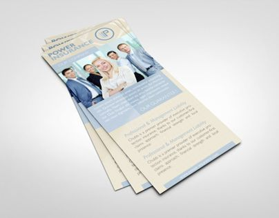 Business Rack Card Template  Rack Card Design    Card