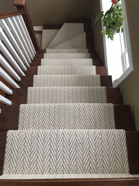 Stairs Runner Chevron Herringbone Runner Stair Runner You are in the right place about carpet stairs House Inspo, Stair Runner Carpet, Stairs, Home, House Design, Building Stairs, Home Remodeling, New Homes, House Interior