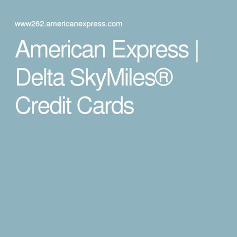 Americanexpress Com Delta >> American Express Delta Skymiles Credit Cards Tattoos