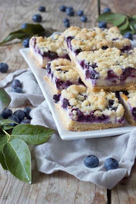 Photo of Heidelbeerkuchen mit Topfen und Streusel – Rezept – Sweets & Lifestyle®