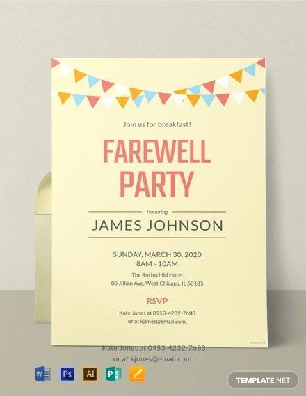 Simple Template Design Just Another Invitation Template Example
