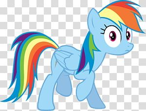 Rainbow Dash 2 My Little Pony Rainbow Dash Transparent Background