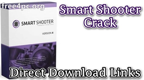 Smart Shooter 4.13 With Crack [Latest]  Smart Shooter Crack allows you to fully control your camera from your PC giving you the freedom to explore and experiment to help take the perfect picture. Automatic download and display mean you can fully evaluate your photos in seconds and real-time live view output will help you focus and compose the scene.  Smart Shooter 4 Crack Scripting language lets you control your camera allowing you to take multiple photos with varying settings just by clicking a